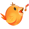 96x96px size png icon of Songbird