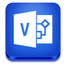 96x96px size png icon of visio