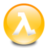 96x96px size png icon of Half Life
