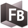 96x96px size png icon of Flash Builder 3