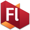 96x96px size png icon of Flash 3