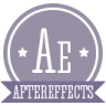 96x96px size png icon of a aftereffects
