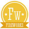 96x96px size png icon of a fireworks