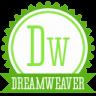 96x96px size png icon of b dreamweaver