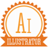 96x96px size png icon of b illustrator