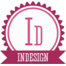 96x96px size png icon of b indesign