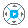 96x96px size png icon of DVD Player