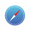 96x96px size png icon of Safari