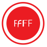 96x96px size png icon of Fontbook