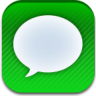 96x96px size png icon of ios7 message