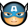 96x96px size png icon of Avengers Captain America