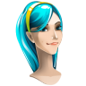 96x96px size png icon of browser girl internet explorer