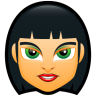 96x96px size png icon of Female Face FC 4