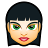 96x96px size png icon of Female Face FI 5