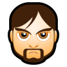 96x96px size png icon of Male Face I1