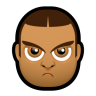 96x96px size png icon of Male Face J5