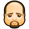 96x96px size png icon of Male Face K1