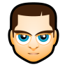 96x96px size png icon of Male Face M3