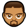 96x96px size png icon of Male Face O1