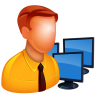 96x96px size png icon of Admin