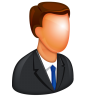 96x96px size png icon of Caucasian Boss