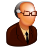 96x96px size png icon of Old Boss