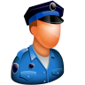 96x96px size png icon of Policeman