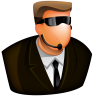 96x96px size png icon of Security Guard