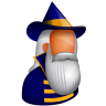 96x96px size png icon of Wizard