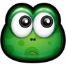 96x96px size png icon of Green Monster 12