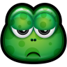 96x96px size png icon of Green Monster 17