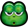 96x96px size png icon of Green Monster 18