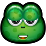 96x96px size png icon of Green Monster 19