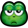 96x96px size png icon of Green Monster 21
