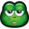 96x96px size png icon of Green Monster 22