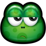 96x96px size png icon of Green Monster 24