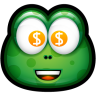 96x96px size png icon of Green Monster 28