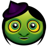 96x96px size png icon of witch