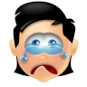 96x96px size png icon of Boy Cry