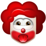 96x96px size png icon of Clown Impish