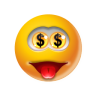 96x96px size png icon of Emoticon Money