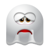 96x96px size png icon of Ghost Sad