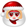 96x96px size png icon of Santa Claus Adore