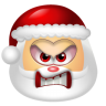96x96px size png icon of Santa Claus Angry