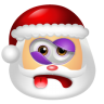 96x96px size png icon of Santa Claus Beaten