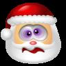 96x96px size png icon of Santa Claus Dizzy