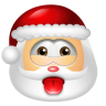 96x96px size png icon of Santa Claus Impish