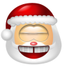 96x96px size png icon of Santa Claus Laugh