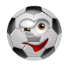 96x96px size png icon of SoccerBall Wink