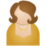 96x96px size png icon of brown woman